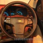 Chevrolet Trailblazer steering wheel India launch
