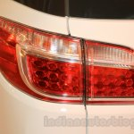 Chevrolet Trailblazer taillights India launch