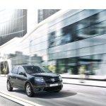 Dacia Sandero Music front three quarter unveiled