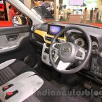 Daihatsu Cast Activa interior at the 2015 Tokyo Motor Show