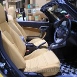 Daihatsu Copen Cero front cabin at the 2015 Tokyo Motor Show