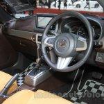 Daihatsu Copen Cero interior at the 2015 Tokyo Motor Show