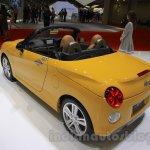 Daihatsu Copen Cero rear three quarter at the 2015 Tokyo Motor Show