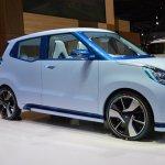 Daihatsu D-Base Concept front three quarter at the 2015 Tokyo Motor Show