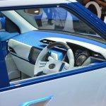 Daihatsu D-Base Concept interior at the 2015 Tokyo Motor Show