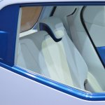Daihatsu D-Base Concept rear seats at the 2015 Tokyo Motor Show