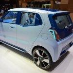 Daihatsu D-Base Concept rear three quarter at the 2015 Tokyo Motor Show