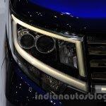 Daihatsu Move Custom headlamp at the 2015 Tokyo Motor Show