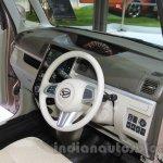 Daihatsu Tanto Welcome Seat interior at the 2015 Tokyo Motor Show