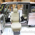 Daihatsu Tanto Welcome Seat side with seat at the 2015 Tokyo Motor Show