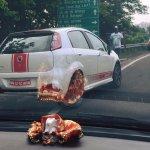 Fiat Abarth Punto in White spied