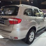 Foton Toplander SUV rear three quarter launched in Philippines