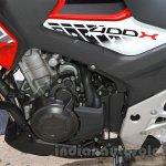 Honda 400X engine at the 2015 Tokyo Motor Show