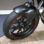 Honda 400X front wheel at the 2015 Tokyo Motor Show