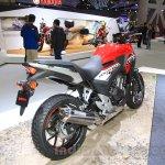 Honda 400X rear quarters at the 2015 Tokyo Motor Show