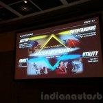Honda BR-V presentation Scene Hunter
