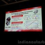 Honda BR-V presentation engine