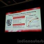 Honda BR-V presentation petrol engine
