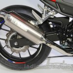 Honda CBR400R exhaust at the 2015 Tokyo Motor Show