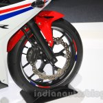 Honda CBR400R front wheel at the 2015 Tokyo Motor Show