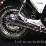 Honda Concept CB exhaust at the 2015 Tokyo Motor Show