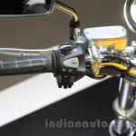 Honda Concept CB switchgear at the 2015 Tokyo Motor Show