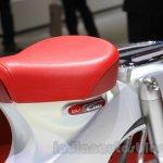Honda EV-Cub Concept seat at the 2015 Tokyo Motor Show