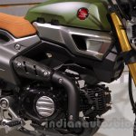 Honda Grom 50 Scrambler Concept One engine at the 2015 Tokyo Motor Show