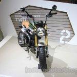 Honda Grom 50 Scrambler Concept One front quarter at the 2015 Tokyo Motor Show