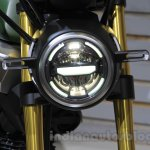 Honda Grom 50 Scrambler Concept One headlight at the 2015 Tokyo Motor Show