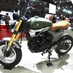 Honda Grom 50 Scrambler Concept One profile at the 2015 Tokyo Motor Show