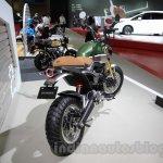 Honda Grom 50 Scrambler Concept One rear quarters at the 2015 Tokyo Motor Show