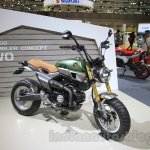 Honda Grom 50 Scrambler Concept One side at the 2015 Tokyo Motor Show