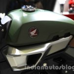 Honda Grom 50 Scrambler Concept One tank at the 2015 Tokyo Motor Show
