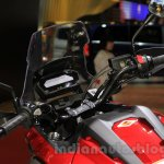 Honda NC750X cluster at the 2015 Tokyo Motor Show