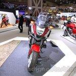 Honda NC750X front at the 2015 Tokyo Motor Show
