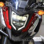 Honda NC750X headlight at the 2015 Tokyo Motor Show