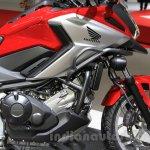 Honda NC750X profile at the 2015 Tokyo Motor Show
