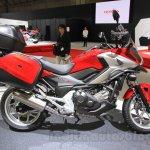 Honda NC750X side at the 2015 Tokyo Motor Show