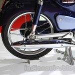 Honda Super Cub Concept exhaust at the 2015 Tokyo Motor Show