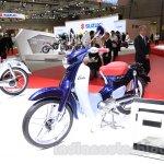 Honda Super Cub Concept front quarter at the 2015 Tokyo Motor Show