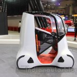 Honda Wander Stand profile at the 2015 Tokyo Motor Show