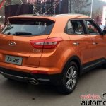 Hyundai ix25 with 1.6 T-GDI petrol engine rear launched in China