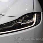 Jaguar F-Pace headlight at the 2015 Tokyo Motor Show