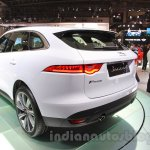 Jaguar F-Pace rear quarter at the 2015 Tokyo Motor Show