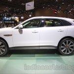 Jaguar F-Pace side at the 2015 Tokyo Motor Show