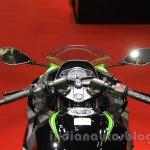Kawasaki Ninja 250 ABS handle at the 2015 Tokyo Motor Show