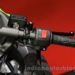 Kawasaki Ninja 250 ABS handlebar at the 2015 Tokyo Motor Show