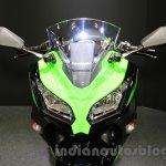 Kawasaki Ninja 250 ABS headlight at the 2015 Tokyo Motor Show