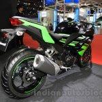 Kawasaki Ninja 250 ABS rear quarter at the 2015 Tokyo Motor Show